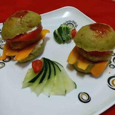 Photo of Mini veg burger by Mayuri Vora at BetterButter