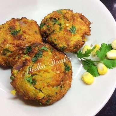 Photo of Corn Vada by Medha Devdas at BetterButter