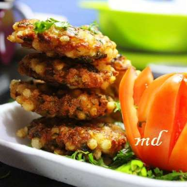 Photo of Sabudana Vada by Medha Devdas at BetterButter