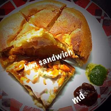Photo of Yummy bun sandwich by Medha Devdas at BetterButter