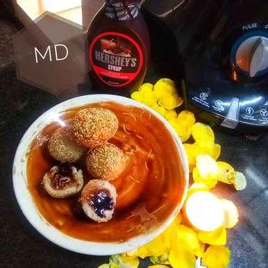 Photo of Sesame rice balls by Medha Devdas at BetterButter
