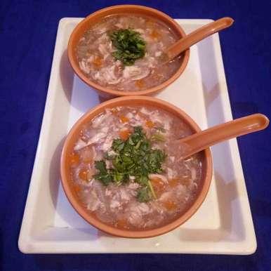 Photo of Chiken soup by Meena Dutt at BetterButter