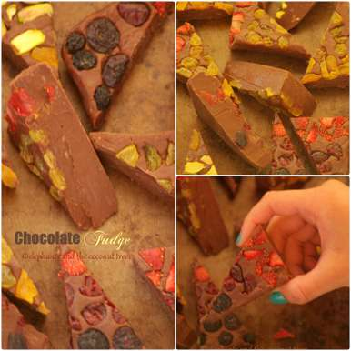 Photo of Easy Chocolate Fudge by Meena Kumar at BetterButter