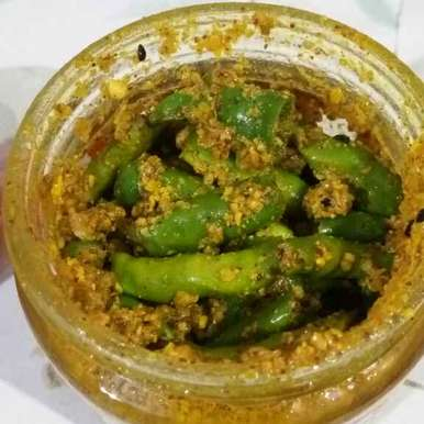 Photo of Instant green chilli pickle by Meenu kawaljit Luthra at BetterButter