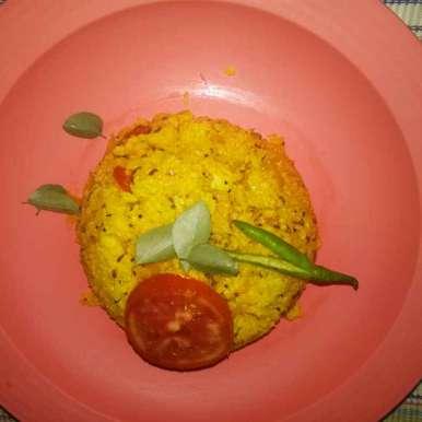 DAHI masala rice recipe in Gujarati, દઈ મસાલા રાઈઝ, Megha Rao