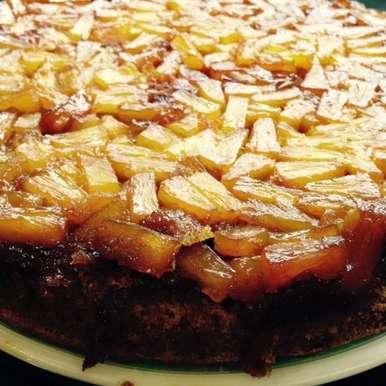 Photo of Pineapple Upside Down Cake by Megha Vikram Singh at BetterButter