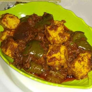 Resturant Style Kadhai Paneer, How to make Resturant Style Kadhai Paneer