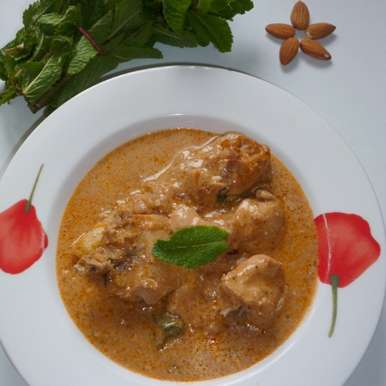 Photo of Almond Mint Chicken by Menaga Sathia at BetterButter
