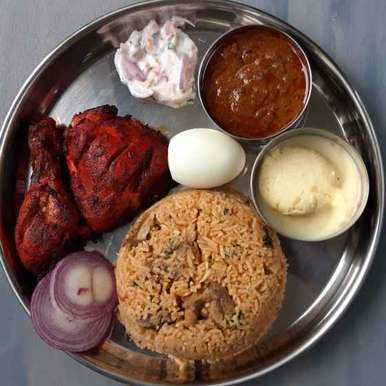 Photo of Biryani Platter by Menaga Sathia at BetterButter