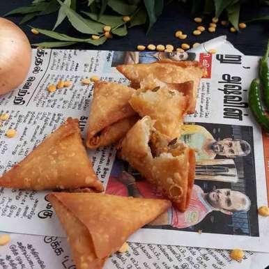 Photo of Onion Samosa by Menaga Sathia at BetterButter
