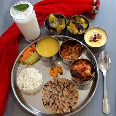 Photo of North Indian Veg Thali by Menaga Sathia at BetterButter