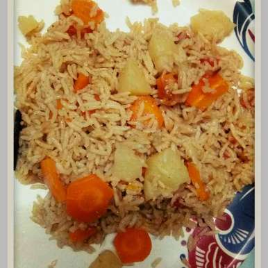 Photo of Carrot Aloo Biryani for babies by pavumidha arif at BetterButter