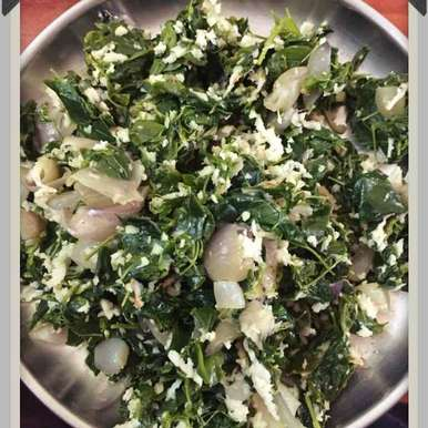 Spinach Fry, How to make Spinach Fry