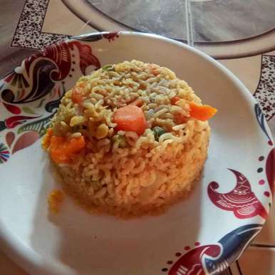 Photo of Carrot Dal Rice by pavumidha arif at BetterButter