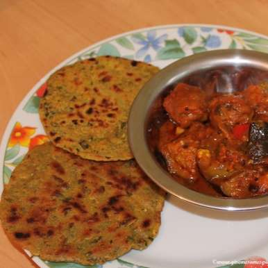 Photo of Mini Millet and wheat flour rotis with fenugreek by Mina A at BetterButter