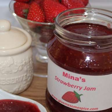 Photo of Strawberry Jam by Mina A at BetterButter