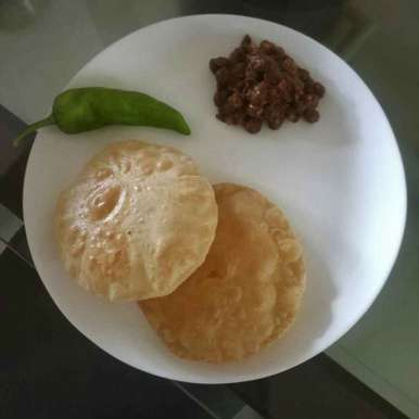 Photo of Wheat flour Bhature by Mita Shah at BetterButter