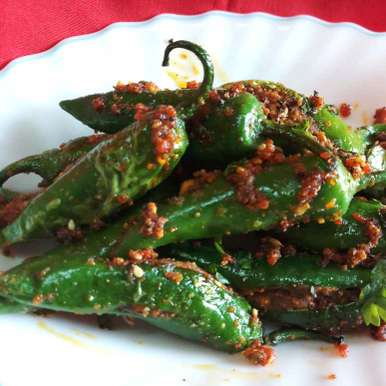 Photo of Stuffed Green Chillies by Mital Viramgama at BetterButter