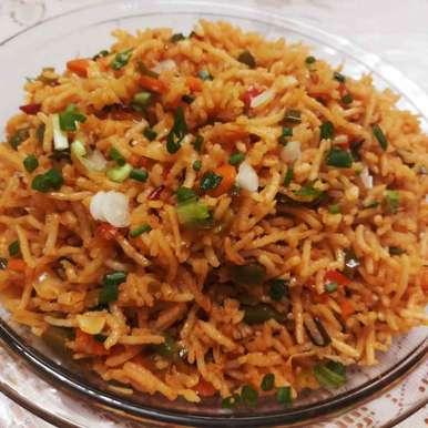 Photo of Schezwan Rice by Mital Viramgama at BetterButter