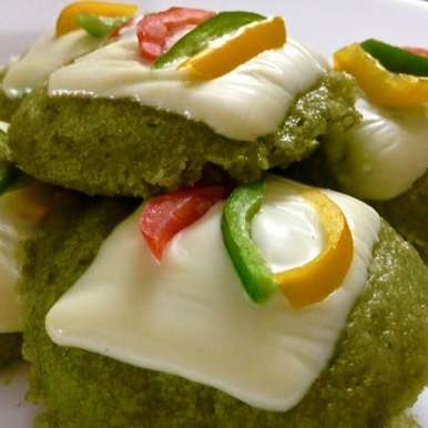 Photo of Cheese Spinach Idlis by Mona Bassi at BetterButter