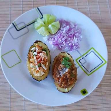 Photo of Jacket potato pav bhaji by Mona Santosh at BetterButter