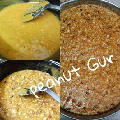 Peanut Gur, How to make Peanut Gur
