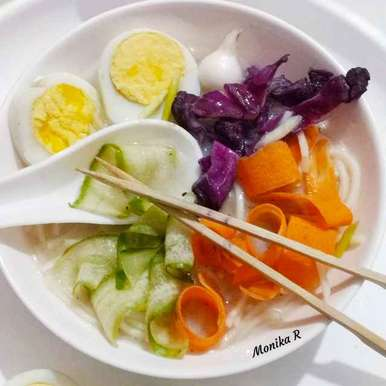Photo of Detox Spaghetti bowl by Monika Rastogi at BetterButter