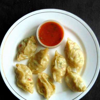 Photo of Steamed veg and paneer momos by Monika S Suman at BetterButter