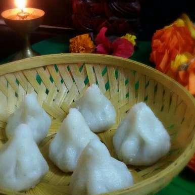 Photo of Modak (A Traditional Maharashtrian Sweet Dish) Without  Mould by Moumita Malla at BetterButter