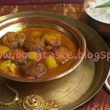 Chanar Dalna (Bengali Style Paneer Kofta Without Onion And Garlic)