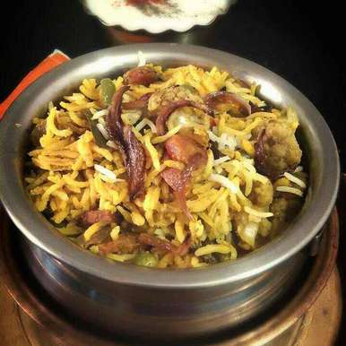 Photo of Veg Dum Biryani by Moumita Malla at BetterButter