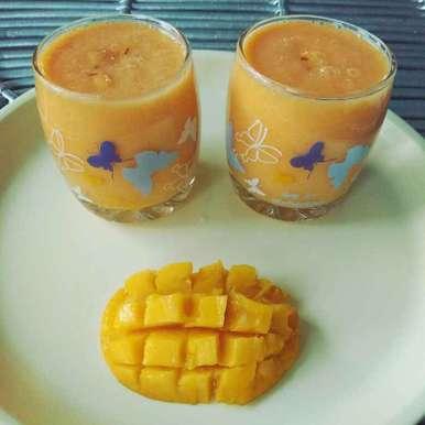 Photo of Mango Shake by Moumita Nandi at BetterButter