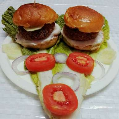Photo of Veggie Burger by Moumita Nandi at BetterButter