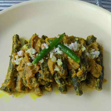 Photo of Sorso Posto Bhindi(Lady's fingers in Poppy Seeds and Mustard Seeds Gravy-Bengali Style) by Moumita Nandi at BetterButter