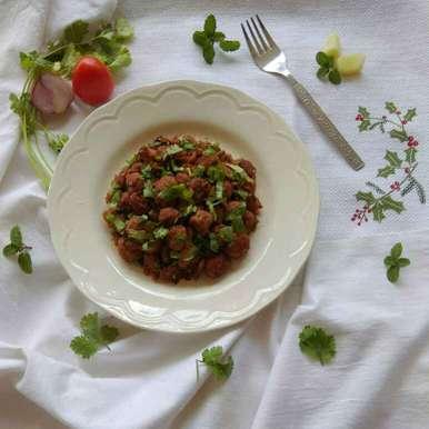 Photo of Soya Chunks Fry by Moumita Nandi at BetterButter