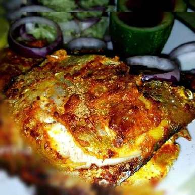 Photo of pomfret fry by Moumita Saha at BetterButter