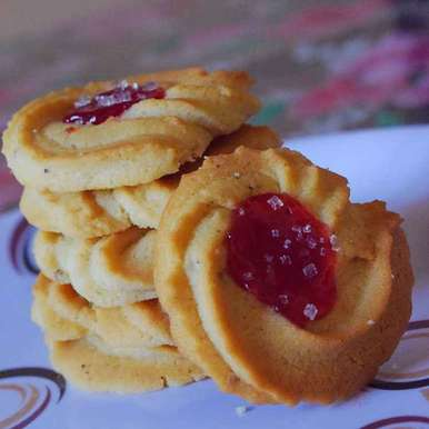 Photo of Butter cookies by Mounisha Dhara at BetterButter