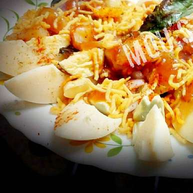 Photo of Egg chaat by Mousumi Manna at BetterButter