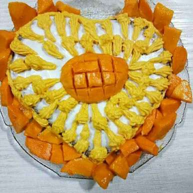 Photo of Mango cake by Mridula Bansal at BetterButter