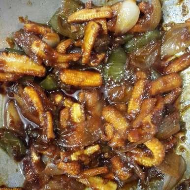 Photo of Babycorn chilli by Mudita Bagla at BetterButter