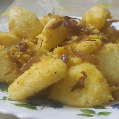 Photo of Fried idli by Mudita Bagla at BetterButter