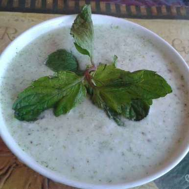 Photo of Mint raita by Mukti Sahay at BetterButter