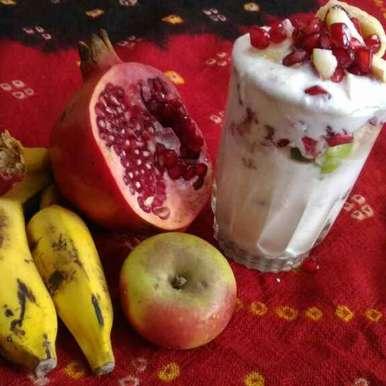 Photo of CREAMY FRUITY YOGURT by Mukti Sahay at BetterButter