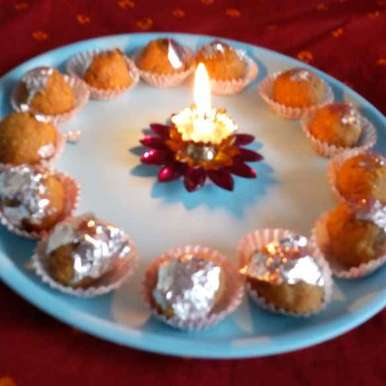 Photo of GRAM FLOUR LADOO by Mukti Sahay at BetterButter