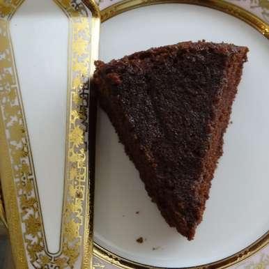 Photo of Eggless Chocolate Mayonnaise Cake by Mukulika Sengupta at BetterButter