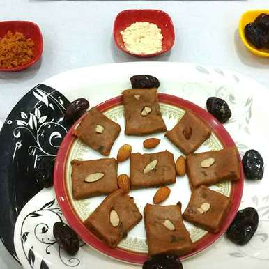 Dates And Foxtail Millet Flour Peda, How to make Dates And Foxtail Millet Flour Peda