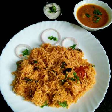 Photo of Kuska - Plain Biryani by Muthulakshmi Madhavakrishnan at BetterButter