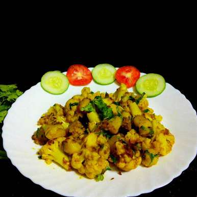 Photo of Aloo Gobi by Muthulakshmi Madhavakrishnan at BetterButter