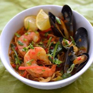 Photo of Seafood Thukpa by Naina Puthran at BetterButter