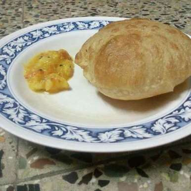 Soft puffy boori recipe in Tamil,பூரி, Najima Afsheen
